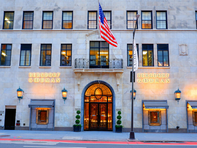 Winkelen op Fifth Avenue - Bergdorf Goodman