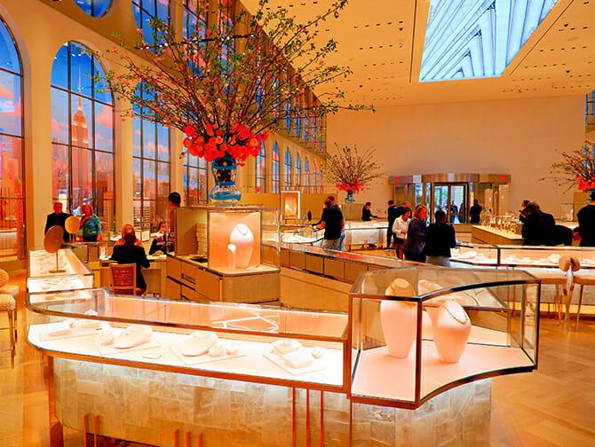 Winkelen op Fifth Avenue - Tiffany's
