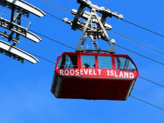 Winkelen in Upper East Side in NYC - Roosevelt Tram