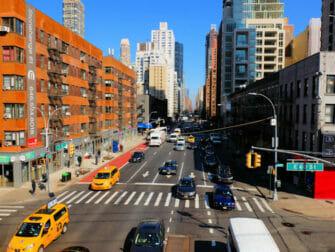 Winkelen in Upper East Side in NYC - Straatbeeld
