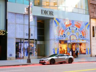 Winkelen in Upper East Side in NYC - Etalages