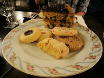 High Tea in New York - Alice's Tea Cup Koekjes