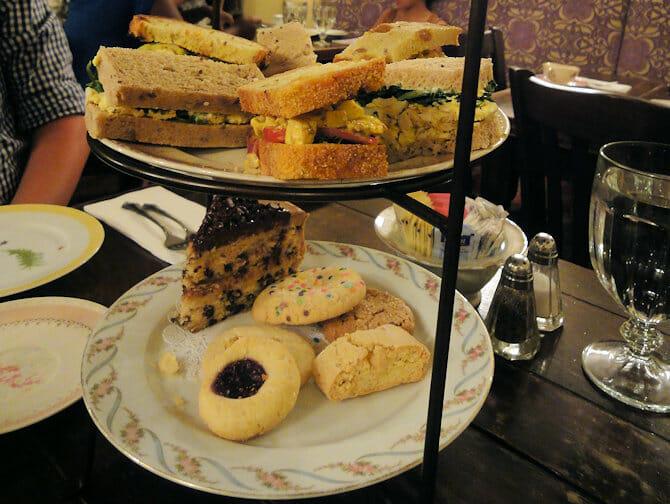 High Tea in New York - Alice's Tea Cup