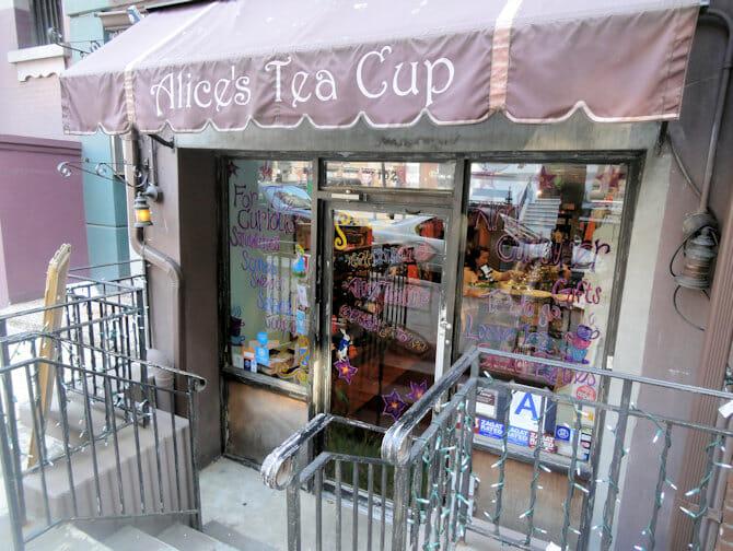 High Tea in New York - Alice's Tea Cup in Upper West Side