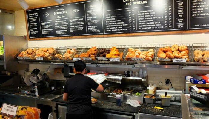 Beste Koffie en Bagel Bars in New York - Pick A Bagel