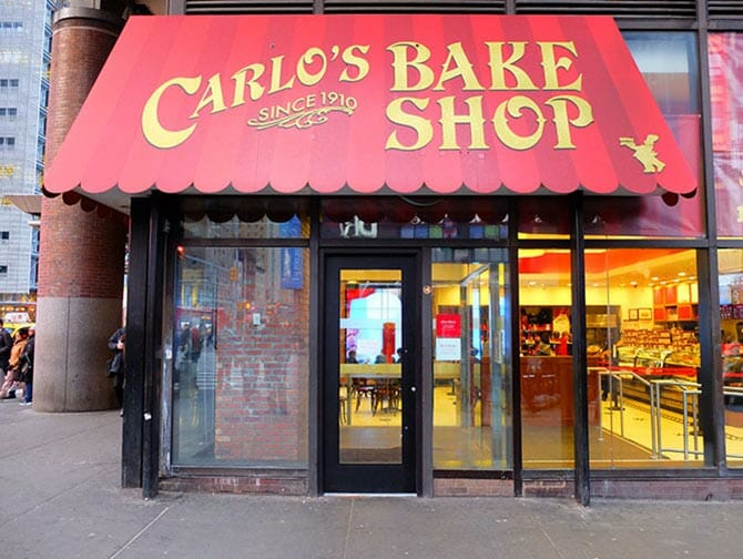 Carlo's Bakery 'Cake Boss' in New York - Carlo's Bake Shop