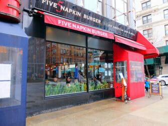 Beste hamburger restaurants in New York - Five Napkin Burger