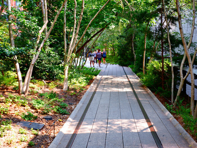 Parken in New York - High Line Park