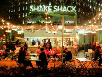 Beste hamburger restaurants in New York - Shake Shack