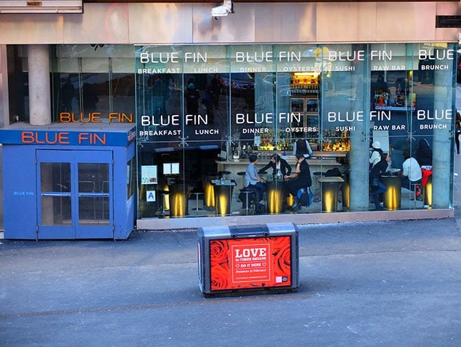 Beste sushi in New York - Blue Fin