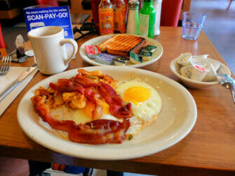 Westway Diner in NYC - Ontbijt