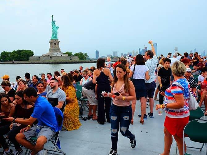 4 juli - Independence Day in New York - Vuurwerkcruise