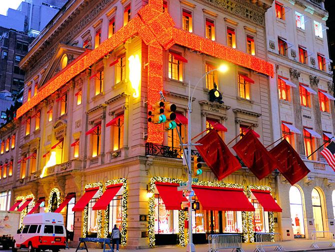 Kerstsfeer in New York - Cartier