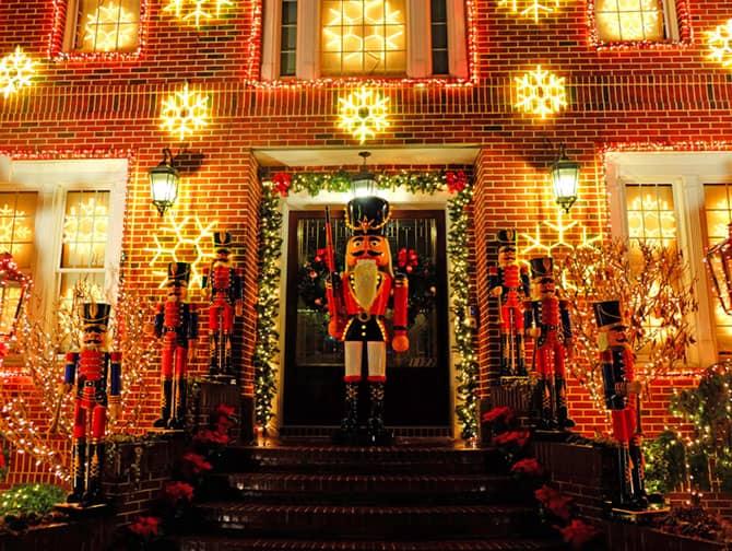Kerstsfeer in New York - Dyker Heights Versiering