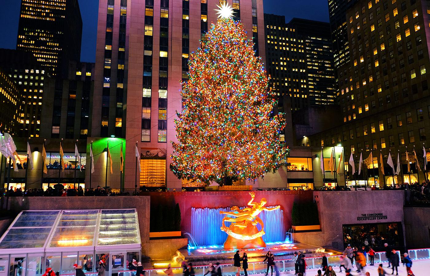 Kerstsfeer in New York - Rockefeller Kerstboom