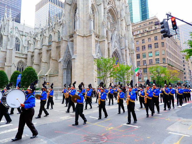 Columbus Day in New York - Band