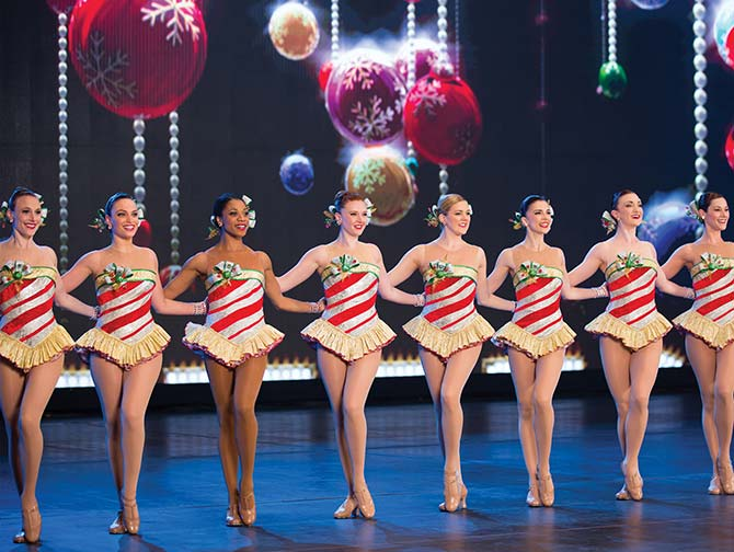 Kerstsfeer in New York - The Rockettes