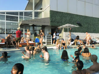 Rooftop Bars in New York - Gansevoort Hotel