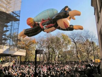 Thanksgiving in New York - Macy's Parade