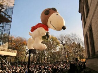Thanksgiving in New York - Snoopy Ballon