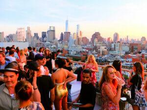 Beste rooftopbars in New York