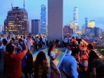Beste rooftopbars in New York - Jimmy