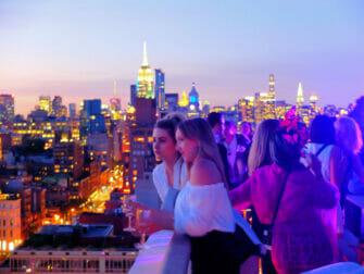 Beste rooftopbars in New York - The Roof Zonsondergang