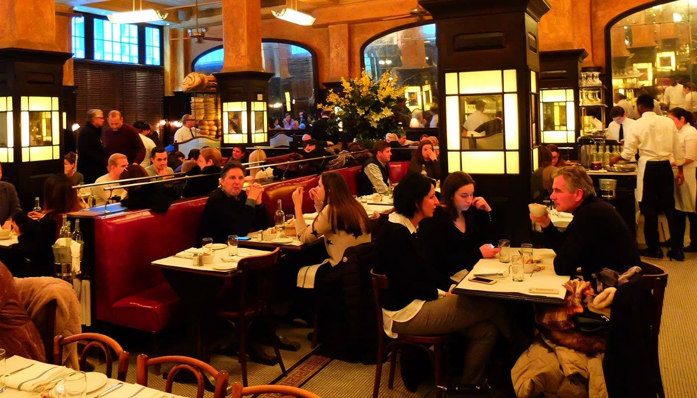 Romantische restaurants en bars in New York - Balthazar
