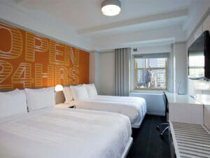 Hotel row nyc in new york