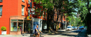Cafes and Bistros in The Village in New York