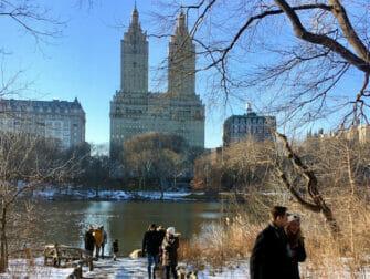 Nieuwjaarsdag in New York - Schaatsen in Central Park