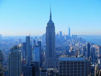 Nieuwjaarsdag in New York - Uitzicht vanaf Top of the Rock