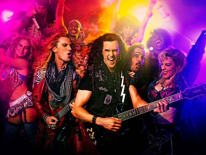 Rock of Ages de Musical in New York Tickets - Rockband