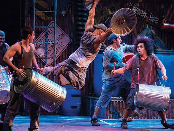 STOMP in New York Tickets - Prullenbakken