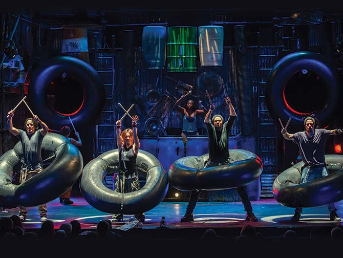 STOMP in New York Tickets - Muziek maken