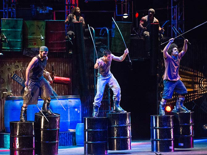 STOMP in New York Tickets - Lopers