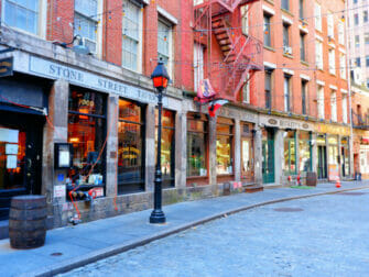 Stone Street Lower Manhattan New York