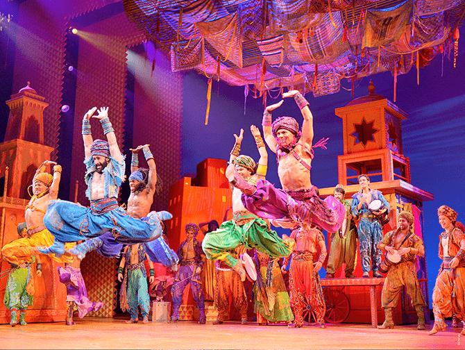 Aladdin op Broadway Tickets - Arabian Nights