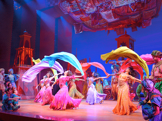 Aladdin op Broadway Tickets - Dansen