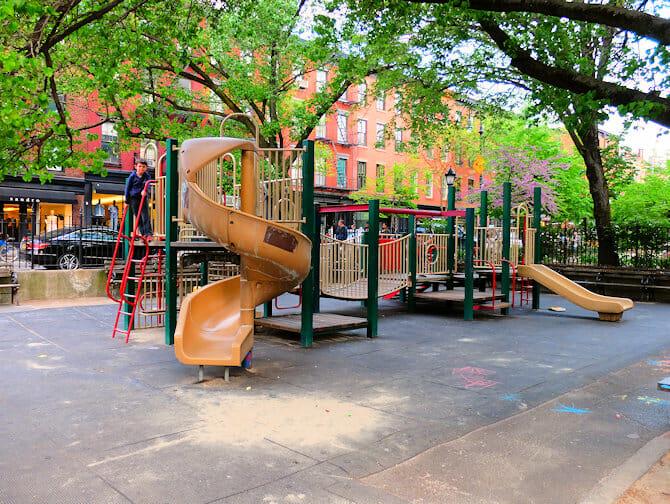 Bleeckerstreet Speeltuin in New York