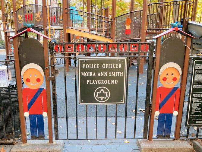 Madison Square Park Speeltuin in New York