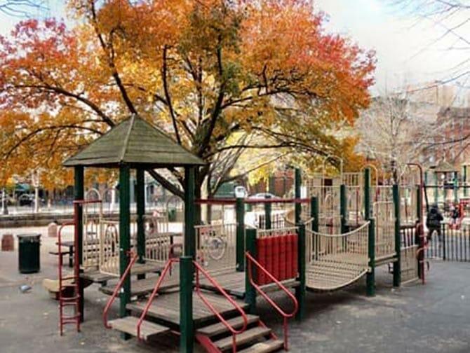 New York Bleeckerstreet Speeltuin
