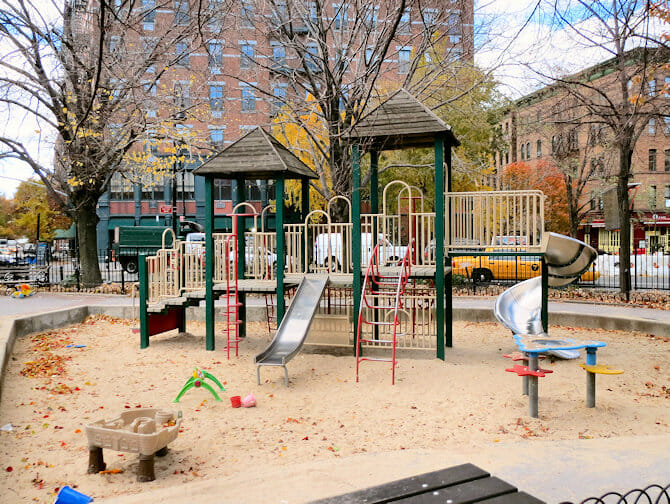 The Bleeckerstreet Speeltuin in New York