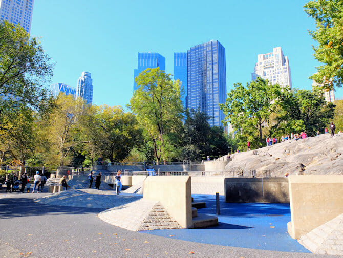 The Central Park Speeltuin in New York