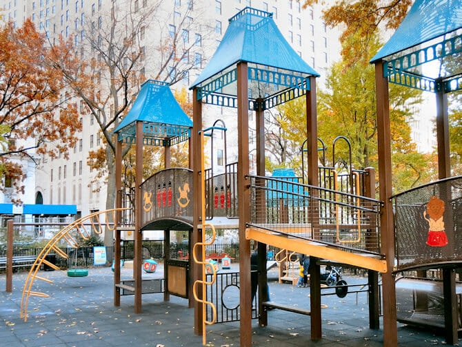 The Madison Square Park Speeltuin in New York