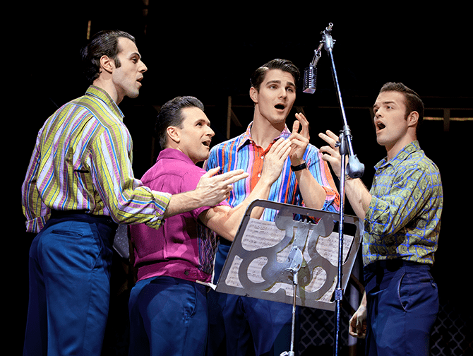 Jersey Boys in New York Tickets - Frankie Valli and The Four Seasons