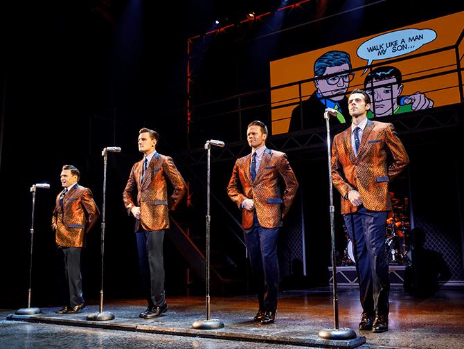 Jersey Boys in New York Tickets - Optreden