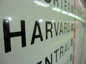 New York naar Boston met de bus Harvard
