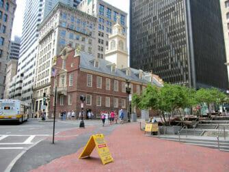 New York naar Boston met de bus USS Constitution Museum