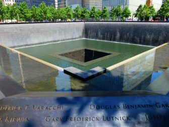 Financial District Tour in NYC - 911 Memorial
